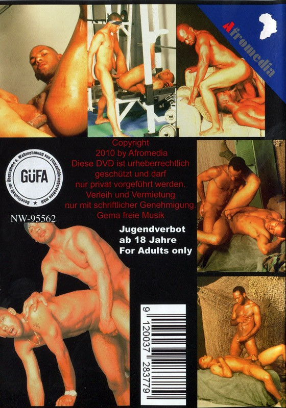 Bare Back Africa DVD - Back