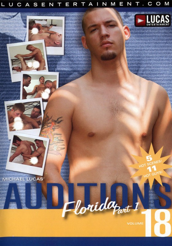 Auditions 18: Florida Part 1 DVD - Front