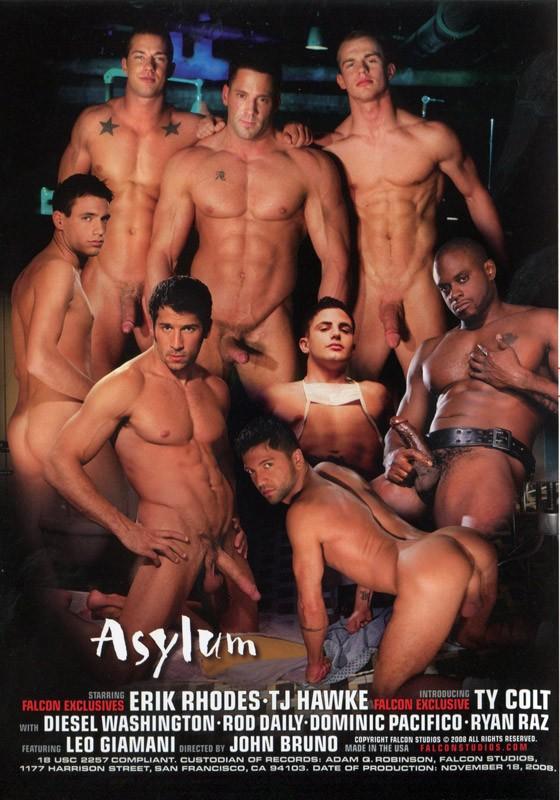 Asylum DVD - Back
