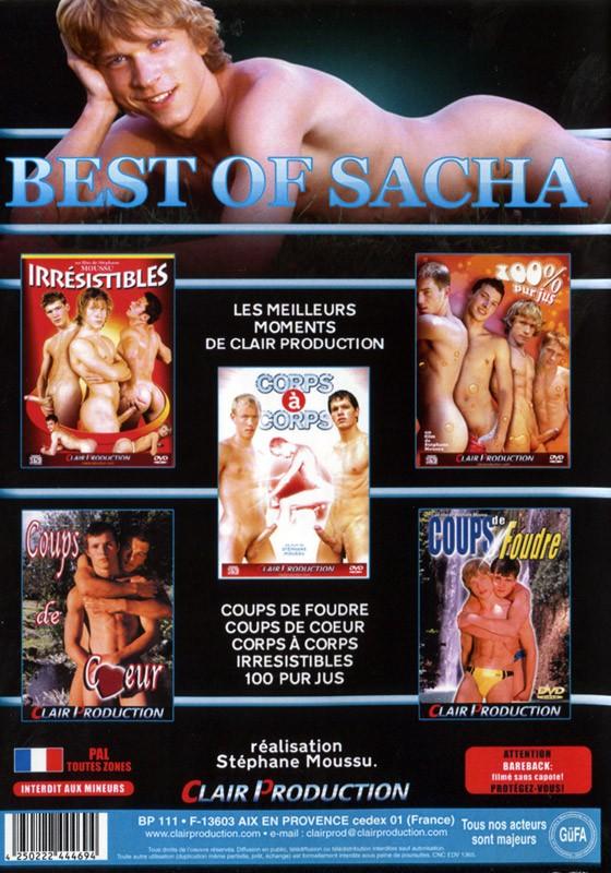 Best Of Sacha DVD - Back