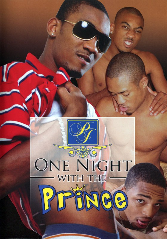 One Night With The Prince DVD - Front