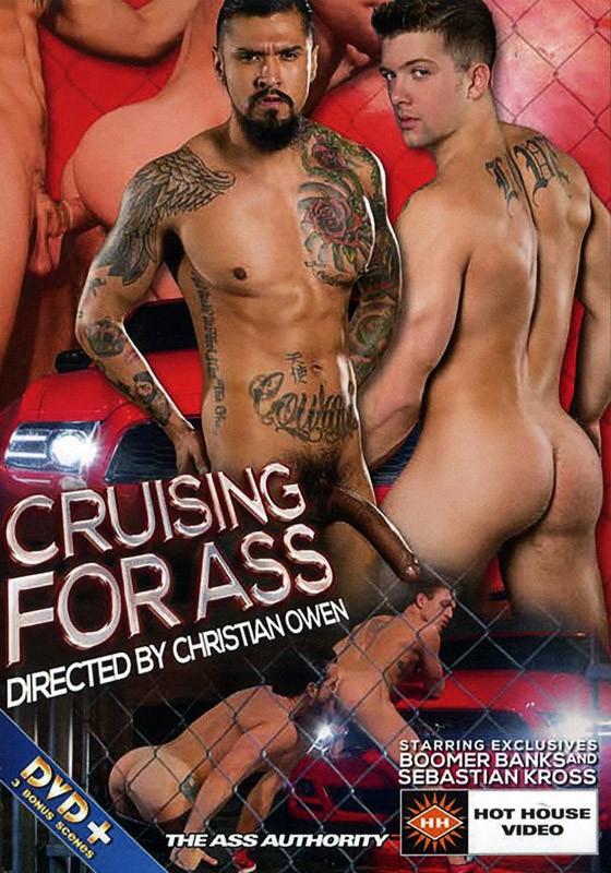Cruising For Ass DVD - Front