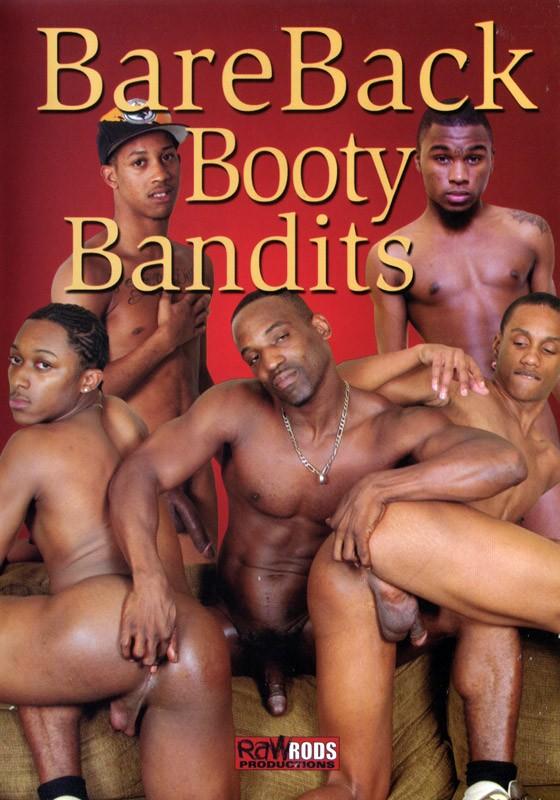 BareBack Booty Bandits DVD - Front