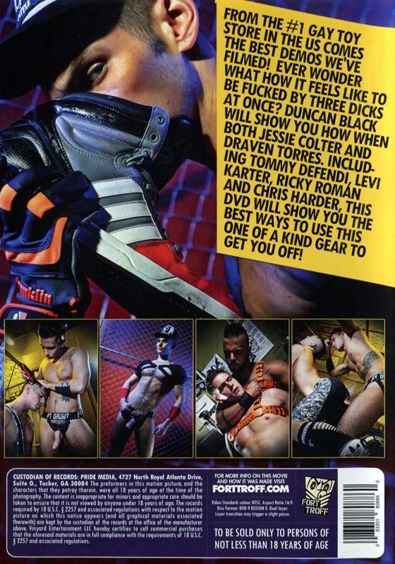 Fort Troff Vol. 1 DVD - Back