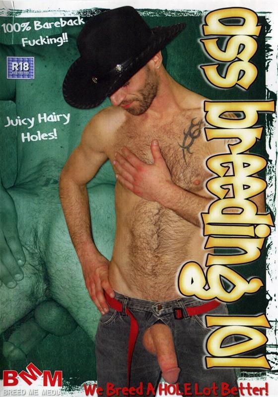 Ass Breeding 101 DVD - Front