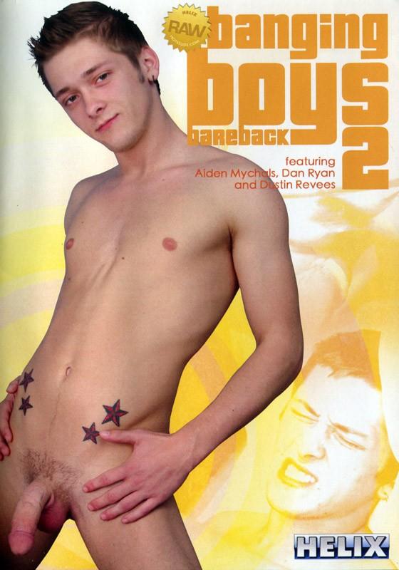 Banging Boys Bareback 2 DVD - Front