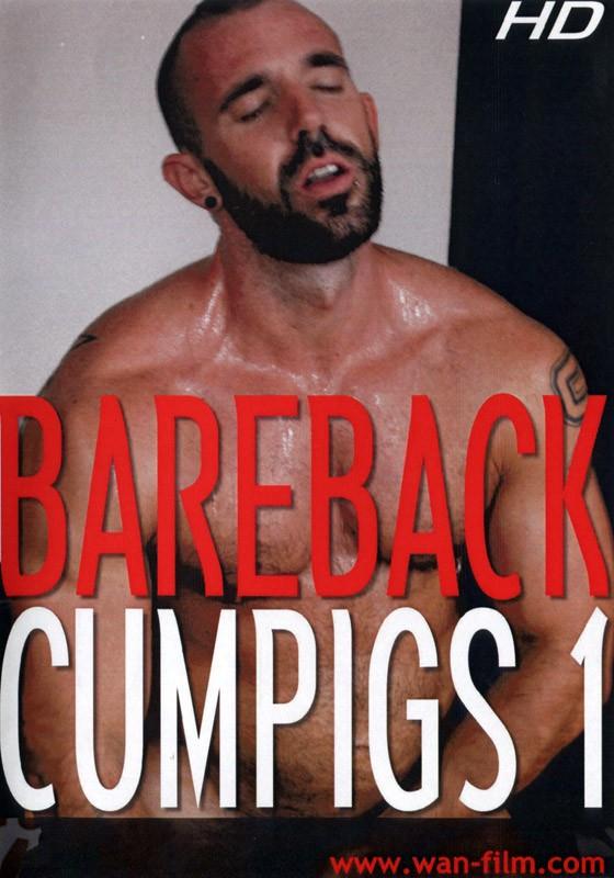Bareback Cumpigs 1 DVD - Front