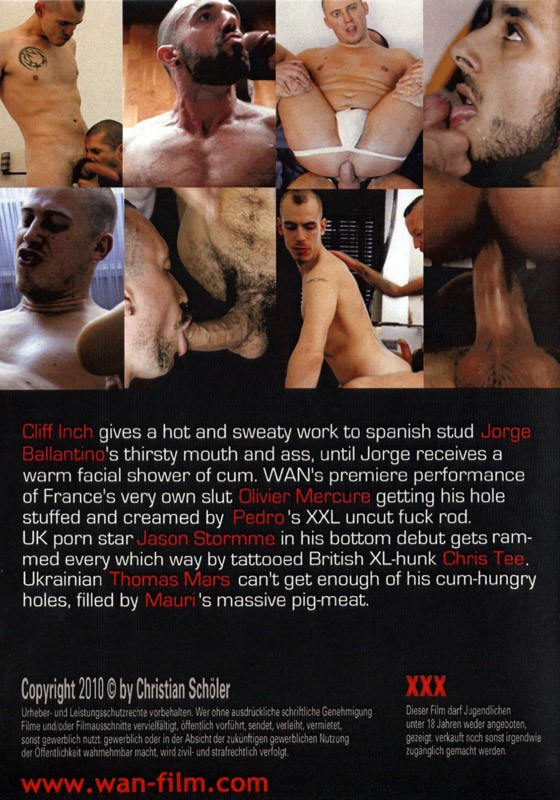 Bareback Cumpigs 1 DVD - Back