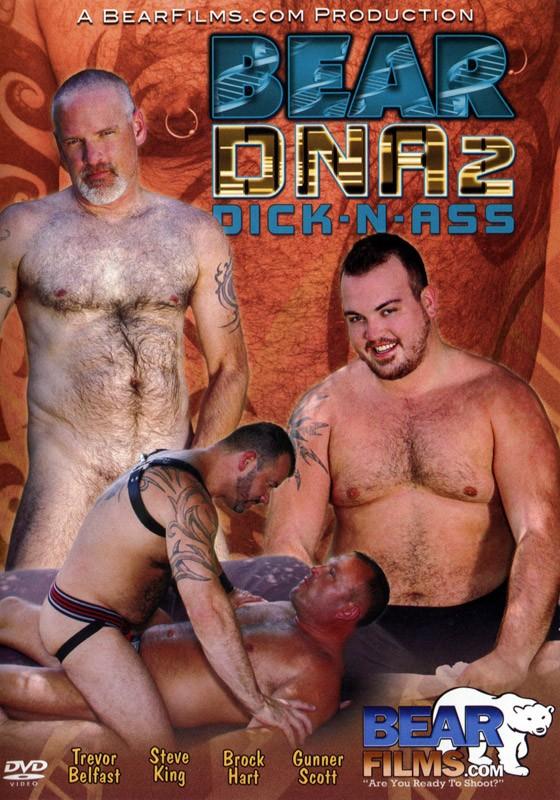 Bear DNA 2 Dick-N-Ass DVD - Front