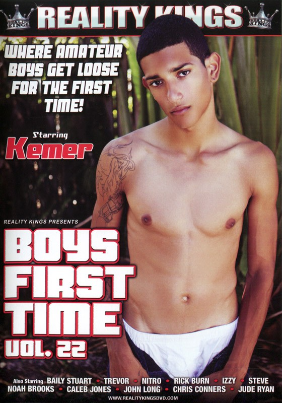 Boys First Time Vol. 22 DVD - Front