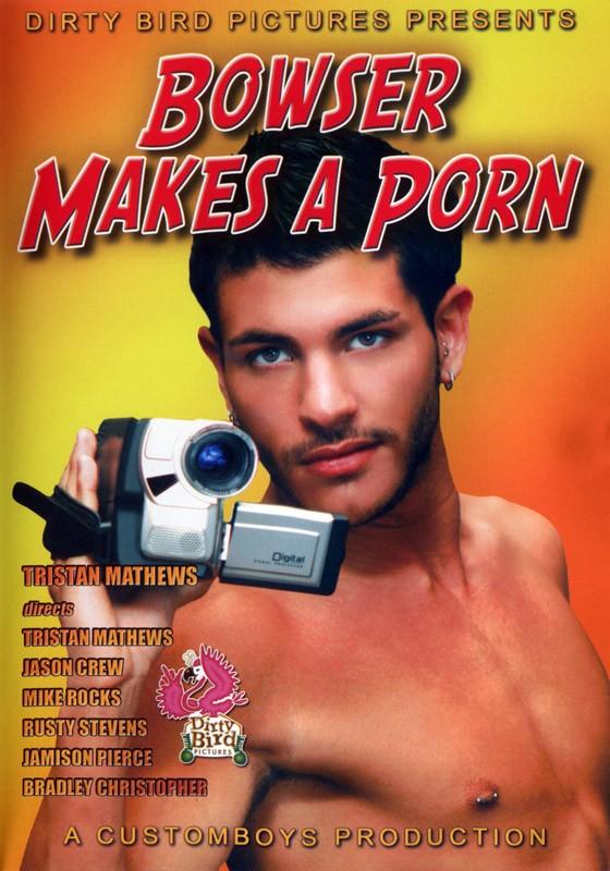 Bowser Makes A Porn DVD - Front