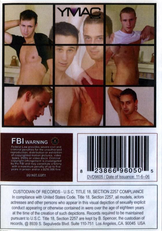 Bohemian Twinks DVD - Back