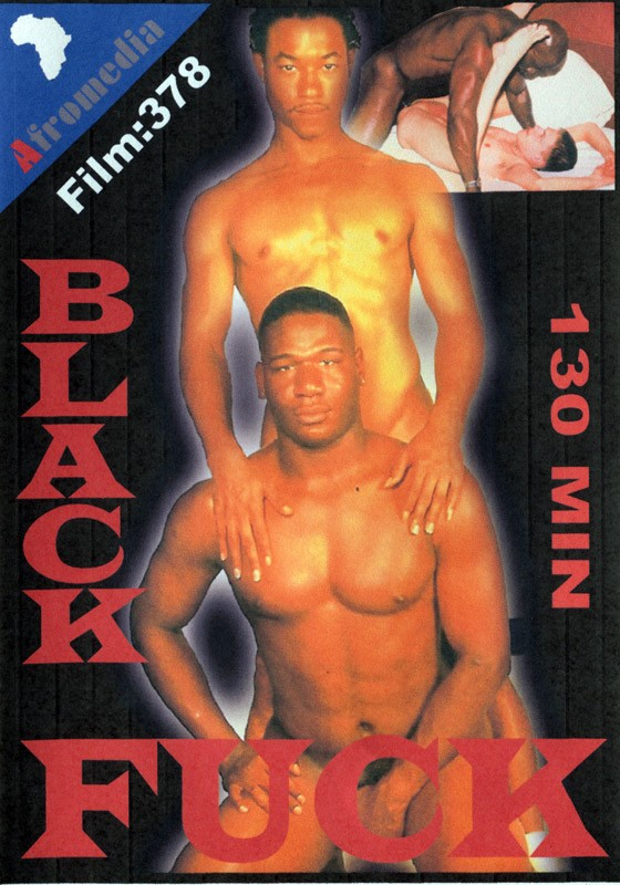 Black Fuck DVD - Front