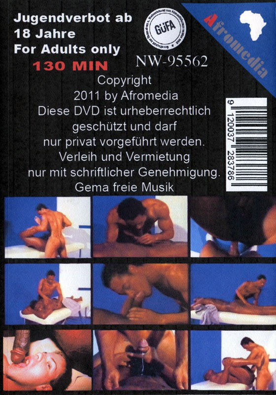 Black Fuck DVD - Back
