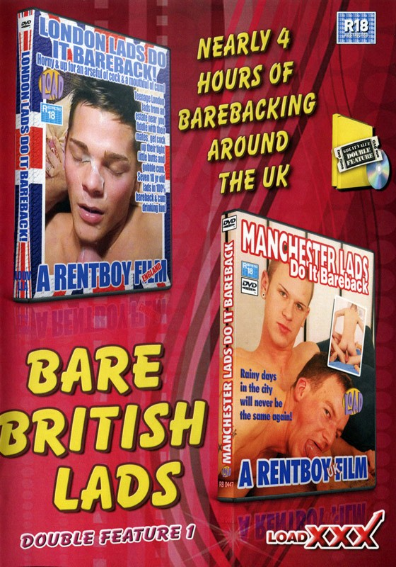 Bare British Lads Double Feature 1 DVD - Front