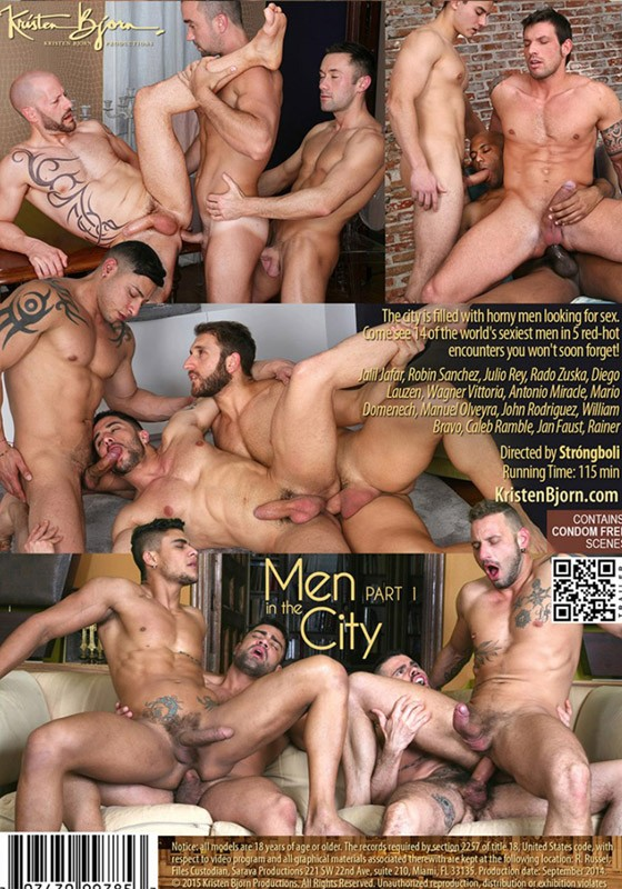 Men in the City part 1 DVD - Back