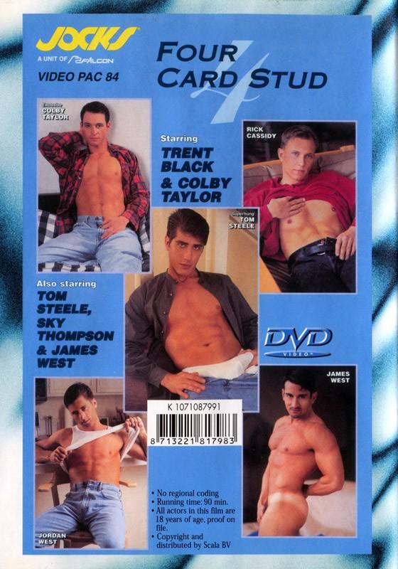 Four Card Stud DVD - Back