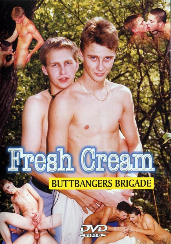 Fresh Cream Buttbangers Brigade DVD - Front
