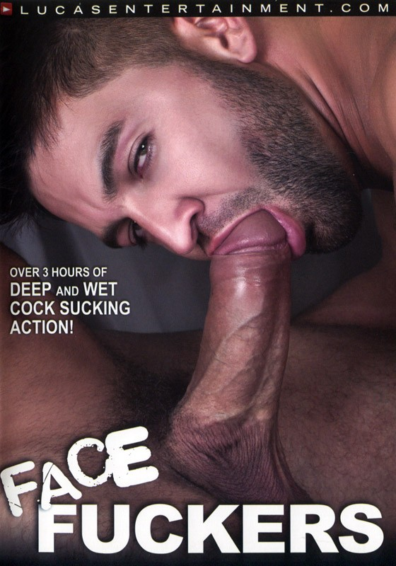 Face Fuckers DVD - Front