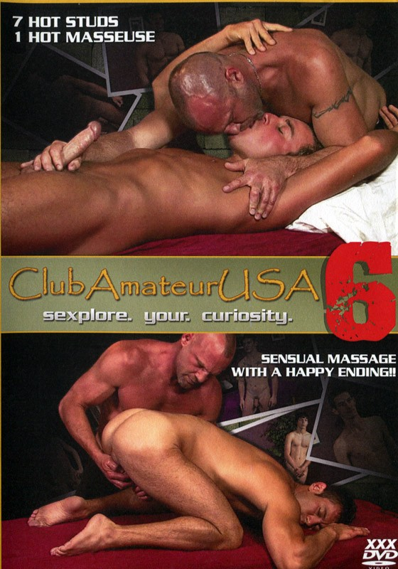Club Amateur USA 6 DVD - Front