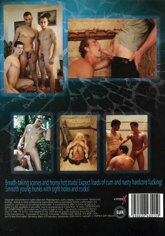 Hungry 4 Cum DVD - Back