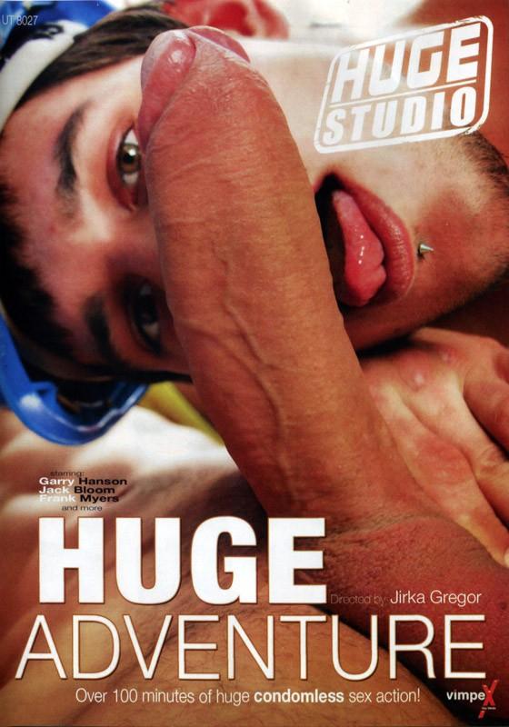 Huge Adventure DVD - Front