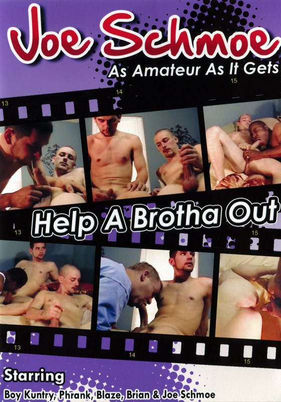 Joe Schmoe: Help A Brotha Out DVD - Front