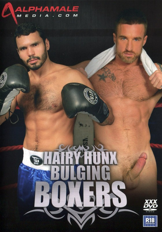 Hairy Hunx Bulging Boxers DVD - Front