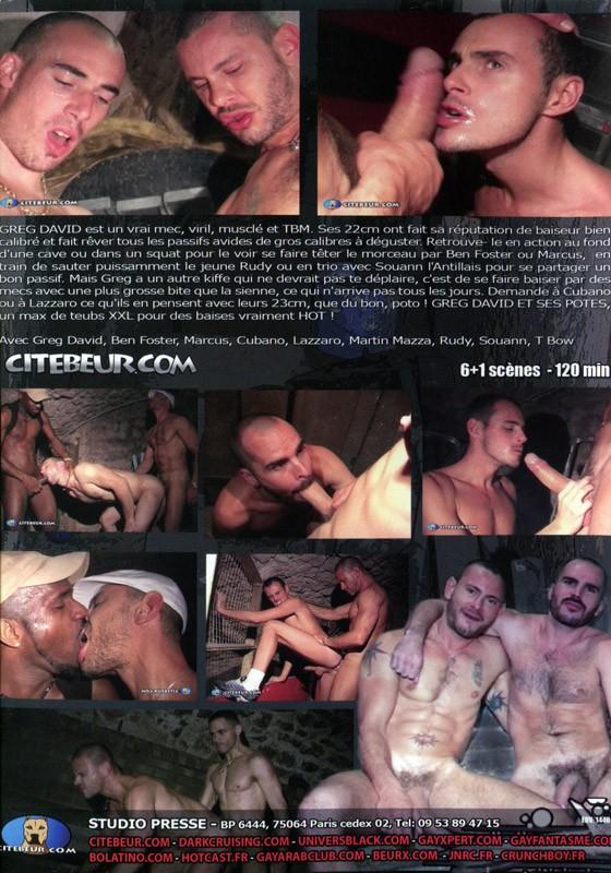Greg David Et Ses Potes DVD - Back