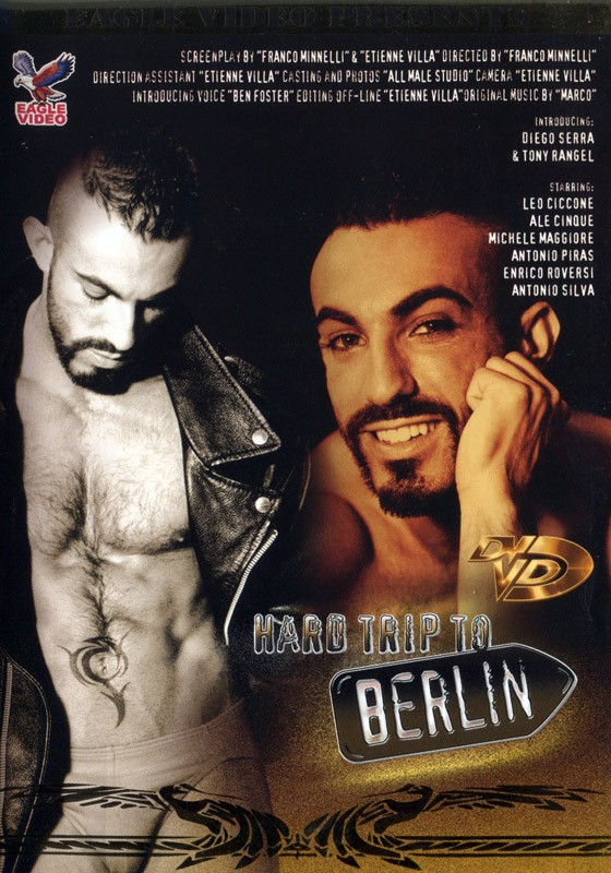 Hard Trip To Berlin DVD - Front