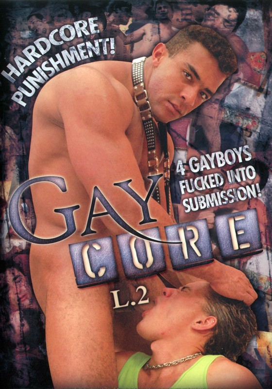 Gay Core L.2 DVD - Front