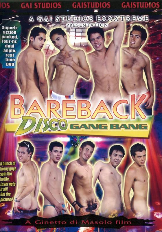 Bareback Disco Gang Bang DVD - Front