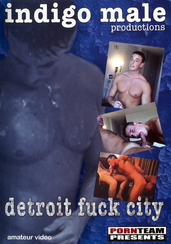 Detroit Fuck City DVD - Front