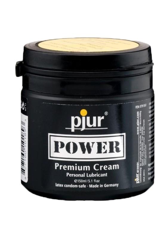 Pjur POWER Premium Creme Tub 150 ml - Front