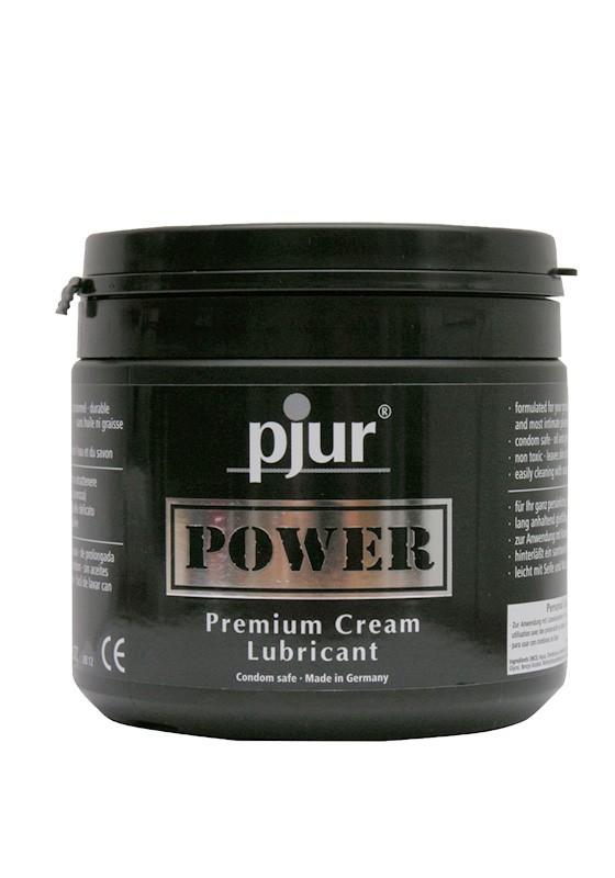Pjur POWER Premium Creme Tub 500 ml - Front