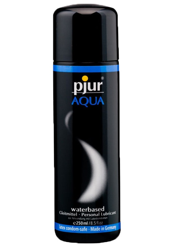 Pjur Aqua Bottle 250 ml - Front