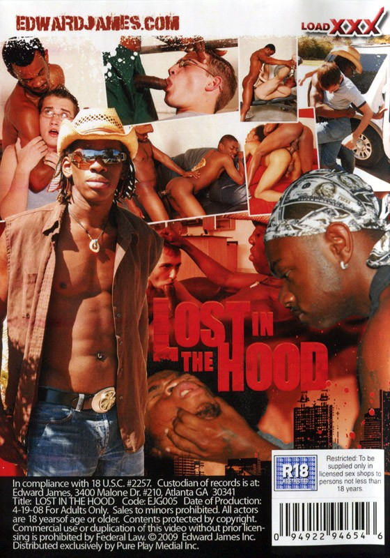 Lost In The Hood DVD - Back