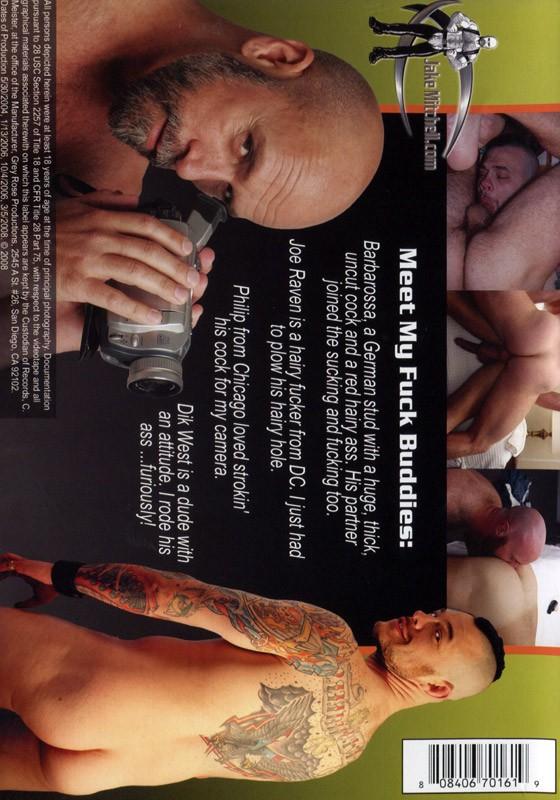 Jake Mitchell's Fuck Buddies DVD - Back