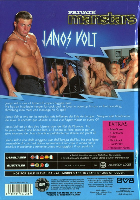 Janos Volt DVD - Back