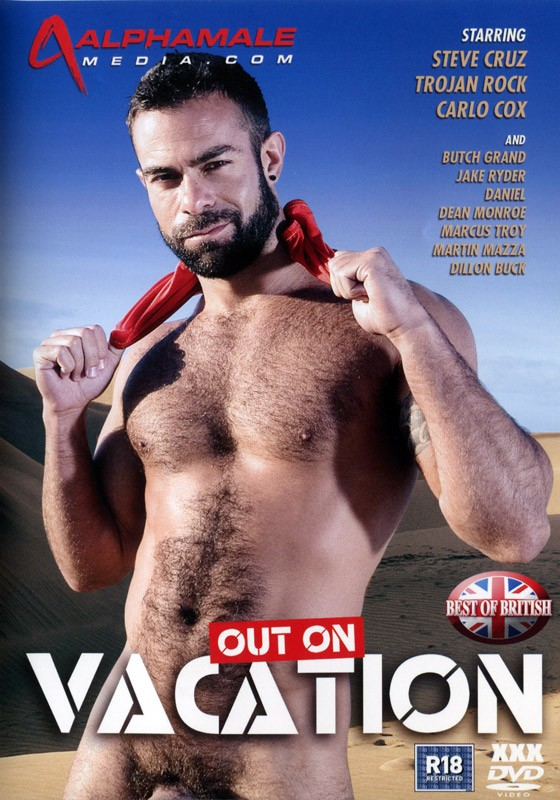 Out On Vacation DVD - Front
