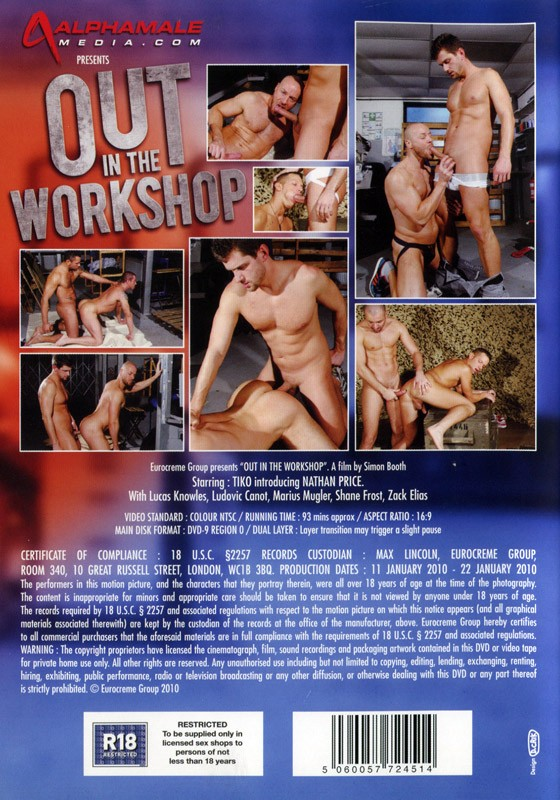 Out in the Workshop DVD - Back