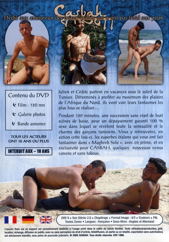 Peches Ou Maghreb DVD - Back