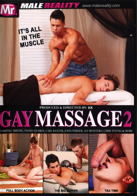Gay Massage 2 DVD - Front