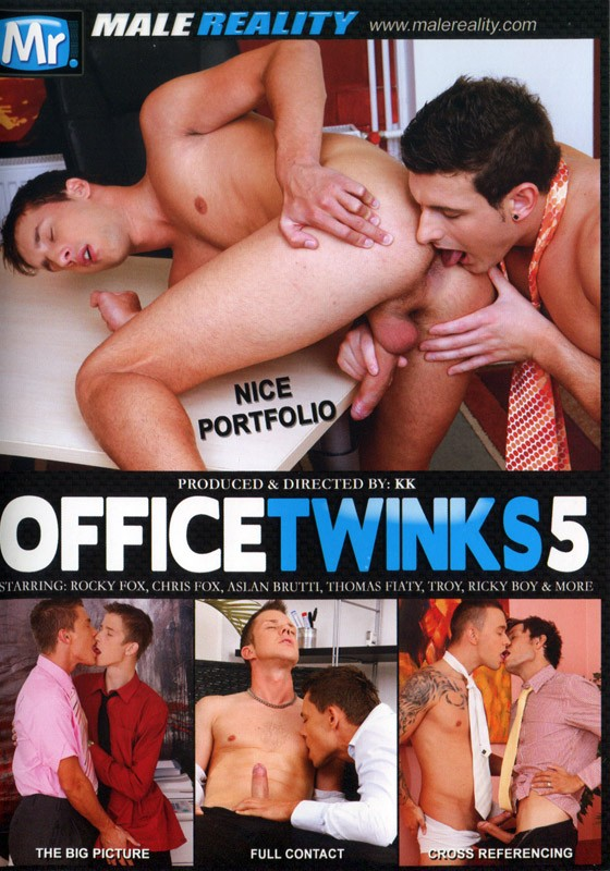 Office Twinks 5 DVD - Front