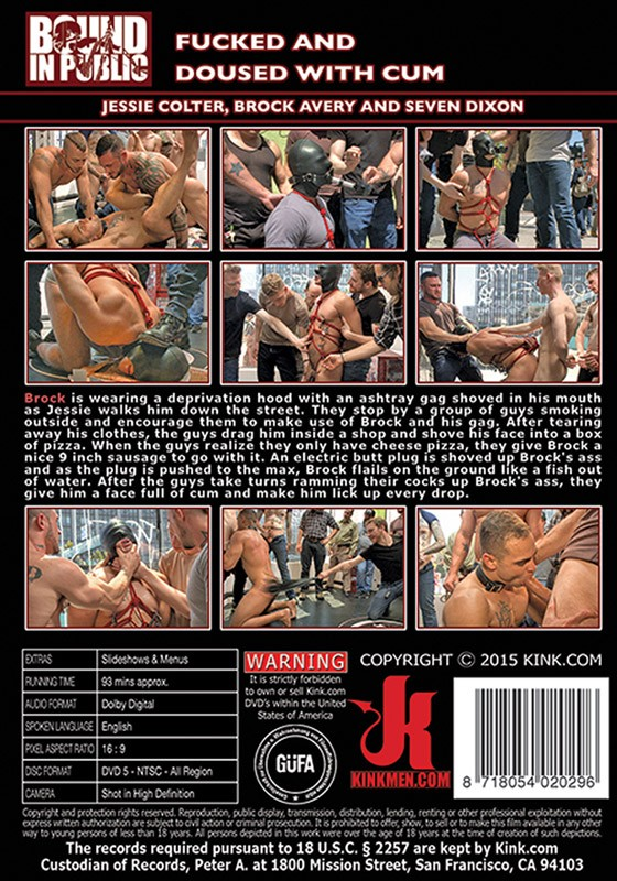 Bound in Public 88 DVD (S) - Back