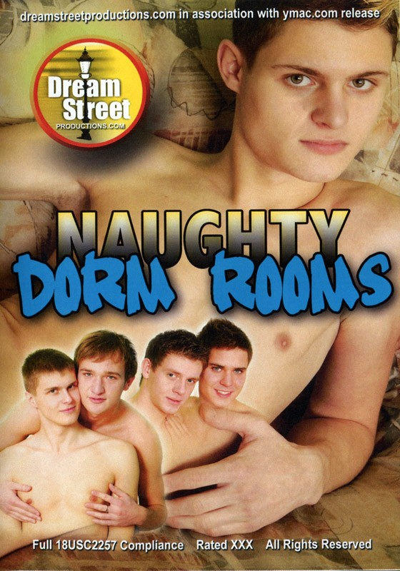 Naughty Dorm Rooms DVD - Front