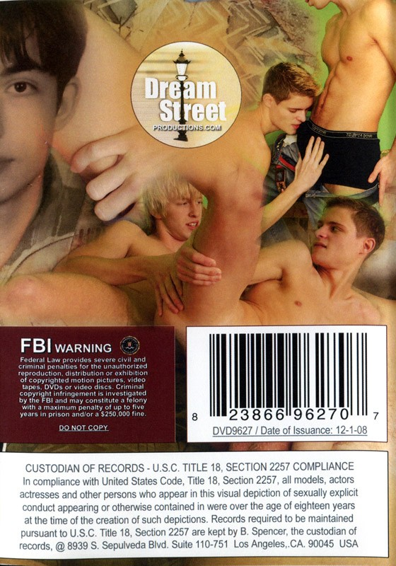 Naughty Dorm Rooms DVD - Back