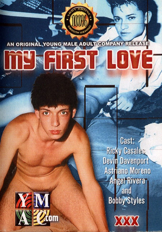 My First Love DVD - Front