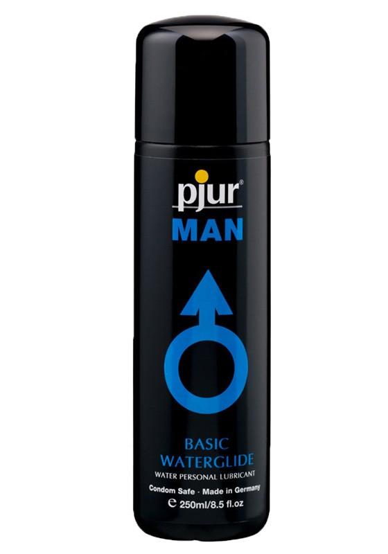 Pjur MAN Basic Waterglide Bottle 250 ml - Front
