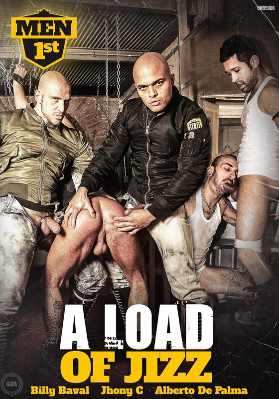 A Load Of Jizz DVD - Front